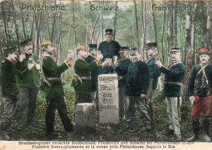 la borne avant 1914