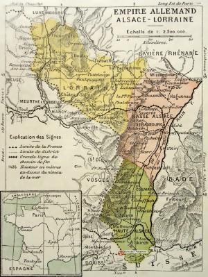 Alsace-lorraine avec Borne